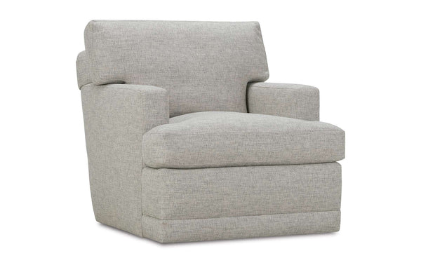 "Phyllis ""Designer Style"" 360 Degree Swivel Fabric Chair"
