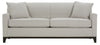 Image of Vance 80 Inch Modern Apartment Sized Fabric Queen Sleeper Sofa