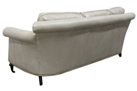 "Wilson 89 Inch ""Designer Style"" Conversational Leather Sofa"