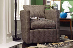 Jocelyn Upholstered Fabric Accent Chair