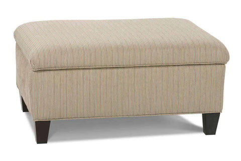 Ottomans & Benches Adonis Hinged Lift Top Fabric Upholstered Storage Bench