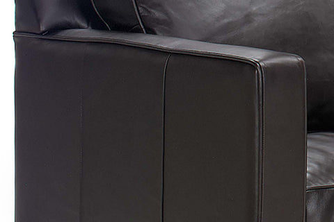 "Alex ""Designer Style"" Leather Sofa Set"