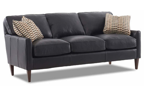 Arlo Apartment Size Leather Loveseat