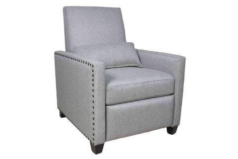 "Baldwin ""Quick Ship"" Metro Nexus Silver Fabric Recliner"