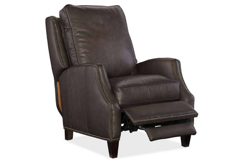 "Barry Castle ""Quick Ship"" Leather Recliner - OUT OF STOCK UNTIL 9/19/20"