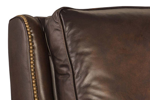 "Barry Fortress ""Quick Ship"" Leather Recliner"