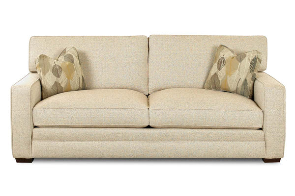 Barton Fabric Contemporary Loveseat (Photo For Style Only)