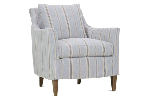 "Becky ""Designer Style"" Slipcovered Wing Arm Accent Chair"