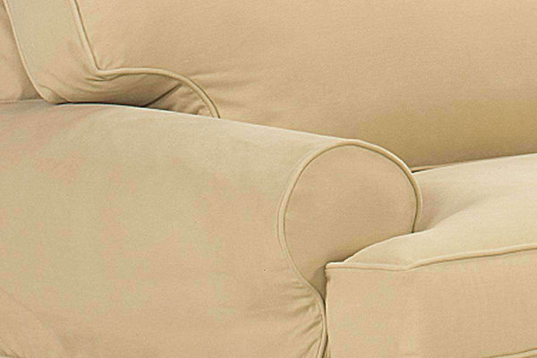 Bella Slipcover Queen Sleeper Sofa - Club Furniture