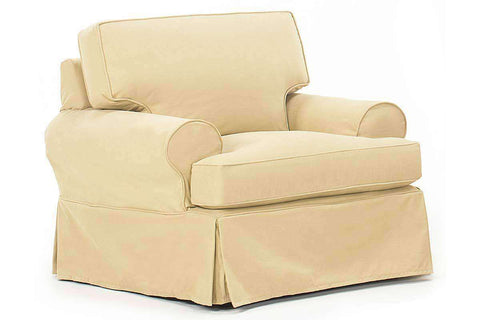 Bella Slipcover Chair - Club Furniture
