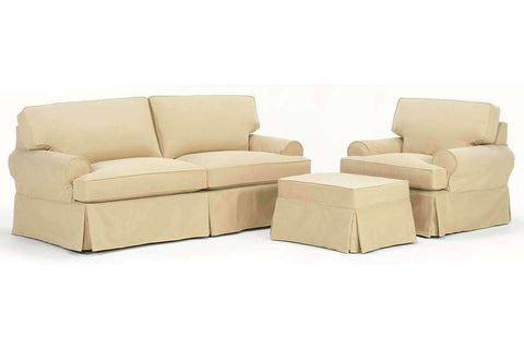 Bella Slipcover Sofa Set