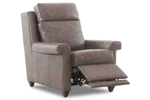 Belmont Transitional Three Way Power Leather Incliner Chair