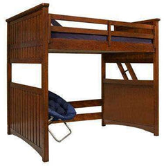 Cody Boys Bedroom Twin Or Full Open Loft Bunk Bed