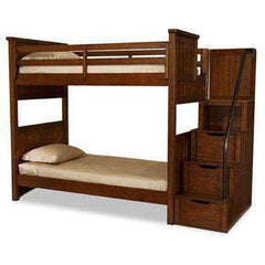 Cody Boys Bedroom Twin Over Twin Bunk Bed With Storage Steps