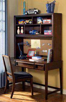 Boys Bedroom Furniture Jared Boys Bedroom Desk/Hutch w/ Matching Upholstered Chair