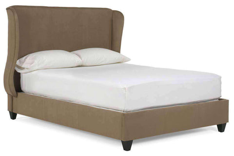 Upholstered Bed Bradford Upholstered Wing Platform Style Bed