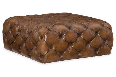 "Ottomans And Benches Bradshaw ""Quick Ship"" Square Tufted Oversized Ottoman"