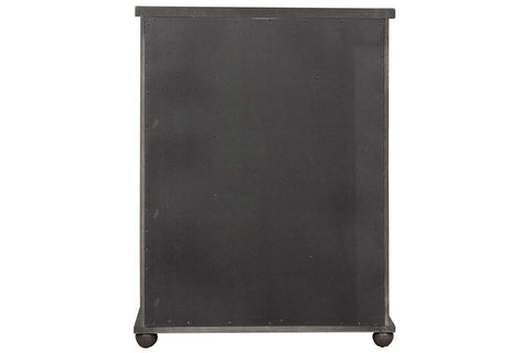 "Branson II Queen Or King Chalkboard Black Panel Bed ""Create Your Own Bedroom"" Collection"