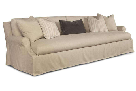 "Calista ""Designer Style"" Oversized 3 Lengths Select-A-Size Slipcovered Sofa - Club Furniture"
