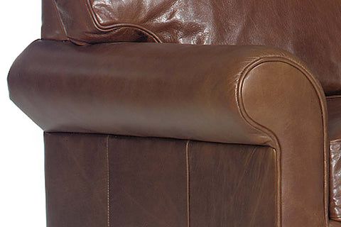 "Calvin ""Designer Style"" Leather Loveseat"