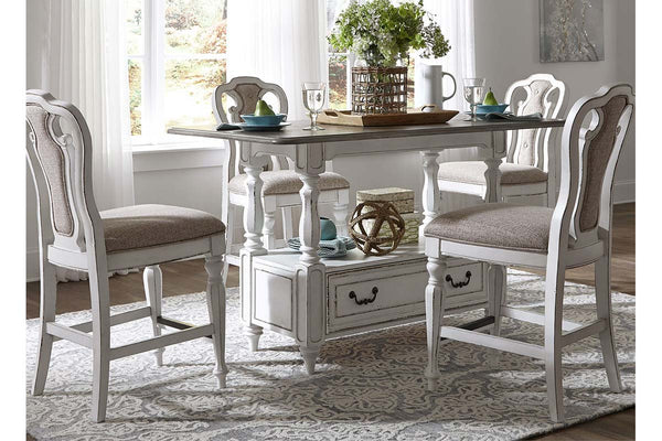 Canterbury Antique White Dining Room Collection