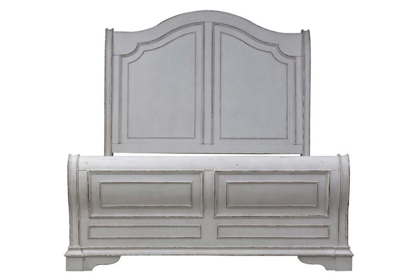 "Canterbury Queen Or King Wood Sleigh Bed ""Create Your Own Bedroom"" Collection"