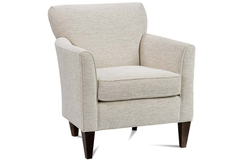 "Caroline ""Designer Style"" Small Upholstered Contemporary Fabric Arm Chair"