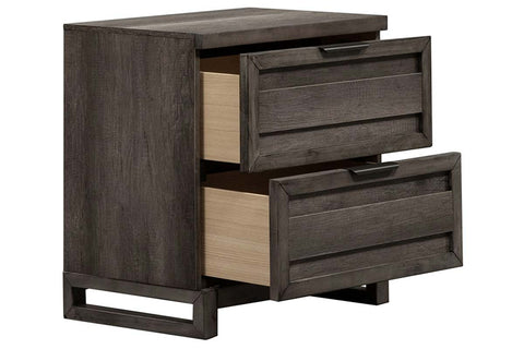 "Carson Queen Or King Urban Loft Panel Bed ""Create Your Own Bedroom"" Collection"