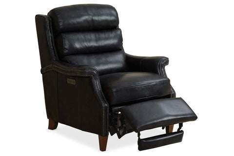 "Casper Dual Power ""Quick Ship"" Leather Recliner"