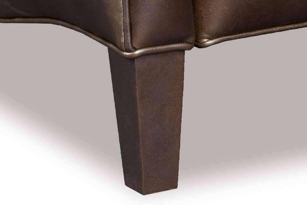 Astonishing Adams Quick Ship Transitional Leather Bustle Back Recliner Alphanode Cool Chair Designs And Ideas Alphanodeonline