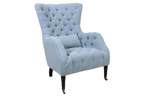 "Chairs And Recliner Alisa ""Quick Ship"" Tufted Fabric Accent Chair"