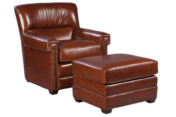 "Chairs And Recliner Gaines ""Quick Ship"" Leather Accent Chair"
