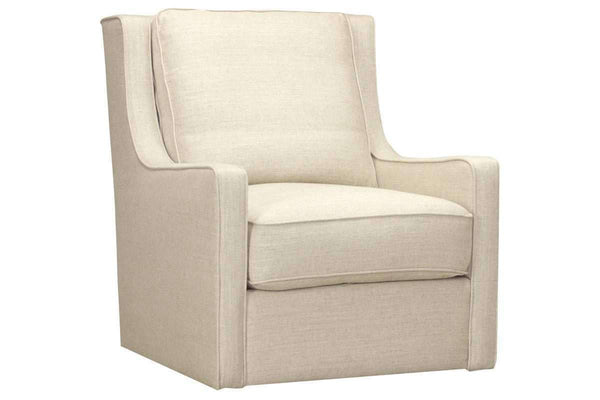 "Chairs And Recliner Sally ""Quick Ship"" Swivel Fabric Accent Chair"