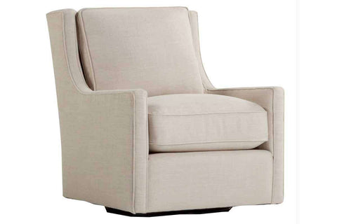 "Chairs And Recliner Tamron ""Quick Ship"" Pillow Back Swivel Fabric Accent Chair"