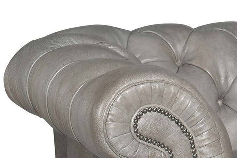 "Colburn ""Ready To Ship"" Chesterfield Queen Sleeper Sofa (Photo For Style Only)"