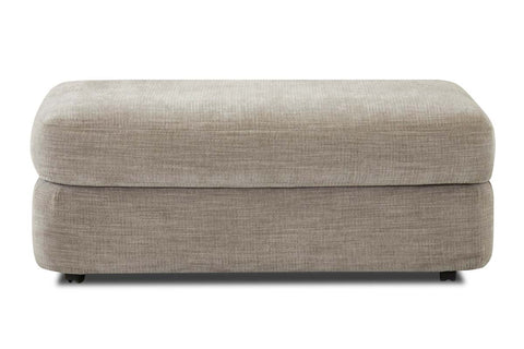 "Cora ""Custom Value"" Fabric Living Room Footstool Ottoman"