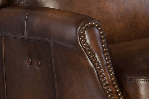 "Craig Power ""Quick Ship"" Leather Recliner OUT OF STOCK UNTIL 9/24/2020"