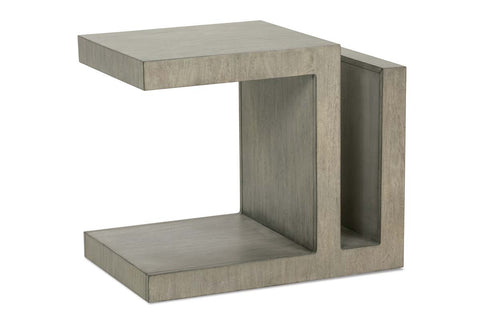 Delta Modern Wood Rectangular End Table