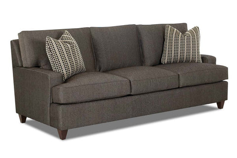 Dempsey 89 Inch Fabric Contemporary Queen Sleep Sofa
