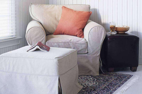 Slipcovered Furniture Dilworth Slipcovered Chair