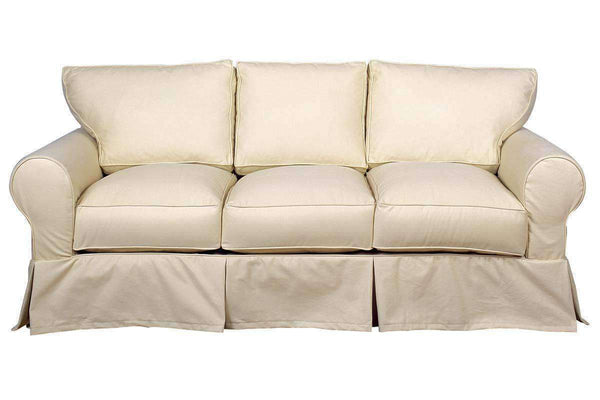 Living Room Dilworth Classic Slipcovered Sofa Collection