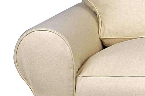 Slipcovered Furniture Dilworth Slipcovered Loveseat (2 Cushion Photo For Style Only)