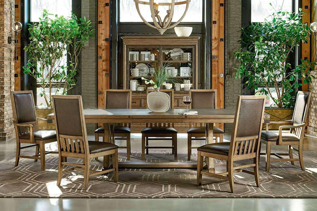 Dining Furniture Chandler Wood Dining Set ...