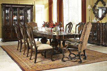 Dining Furniture Milford 9-Piece Fine Dining Set