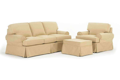 Slipcovered Furniture Emma Slipcover Sofa Set