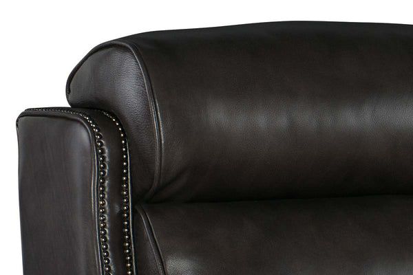 "Everson Dual Power ""Quick Ship"" Leather Recliner"