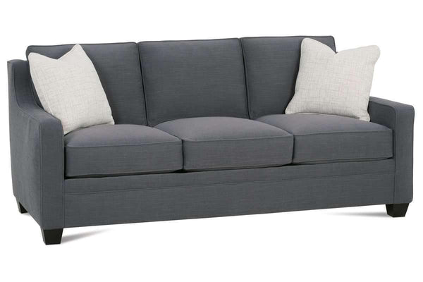 Fabric Furniture Addison Slope Arm Apartment Couch