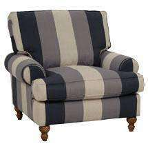 "Fabric Furniture Brin ""Designer Style"" Fabric Upholstered Chair"