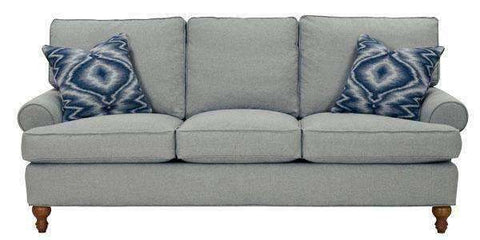 "Fabric Furniture Brin ""Designer Style"" Fabric Upholstered Sofa"