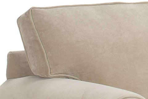 Fabric Furniture Brooke Rolled Arm Upholstered Pillow-Back Chair